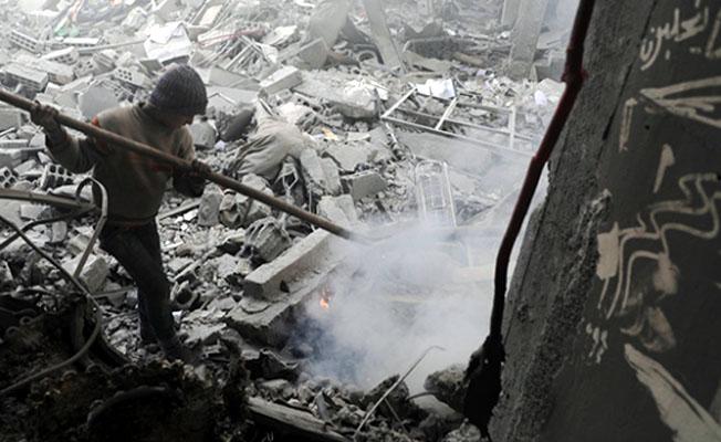 Esed rejimi Doğu Guta'da sivilleri vurdu: 17 ölü