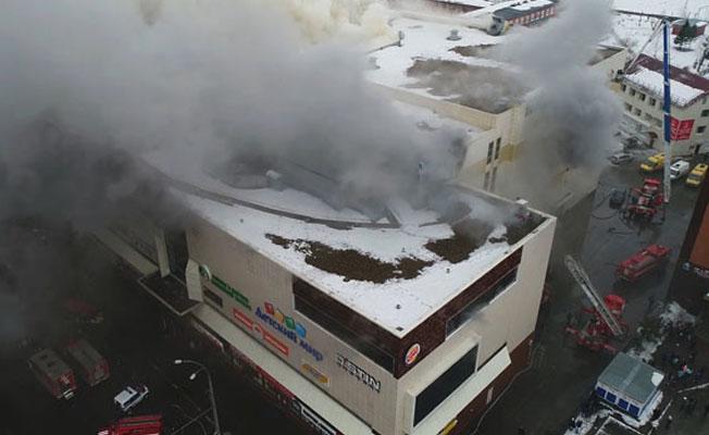 Rusya'da yangın faciası! 53 ölü