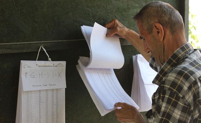 Seçmen listeleri askıdan kalkıyor