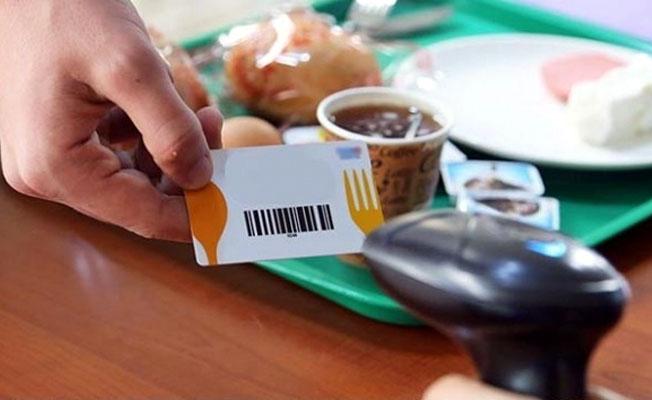 Yemek kartı'nda yeni düzenleme