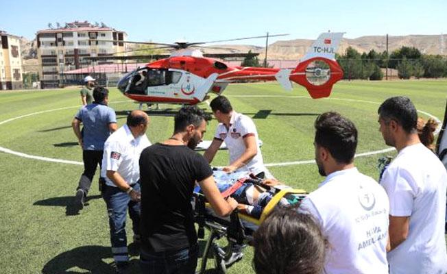 Darende'de korkunç kaza: 1 ölü, 1 yaralı!