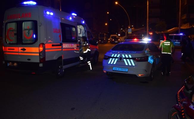 2 otomobilin karıştığı trafik kazasında 2 kişi yaralandı!
