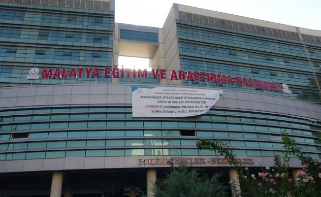 Eğitim ve Araştırma Hastanesinde o saatten sonra ziyaretçi kabul edilmeyecek