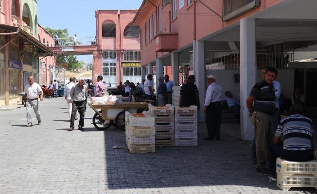 Mahsuller inince Şire Pazarında yoğunluk başladı!