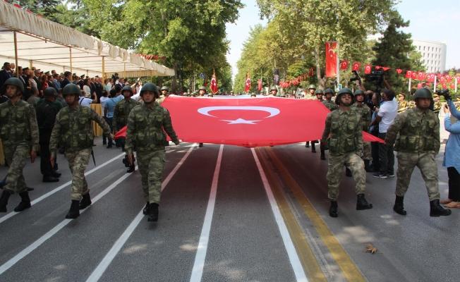 Malatya'da Zafer Bayramı coşkusu!