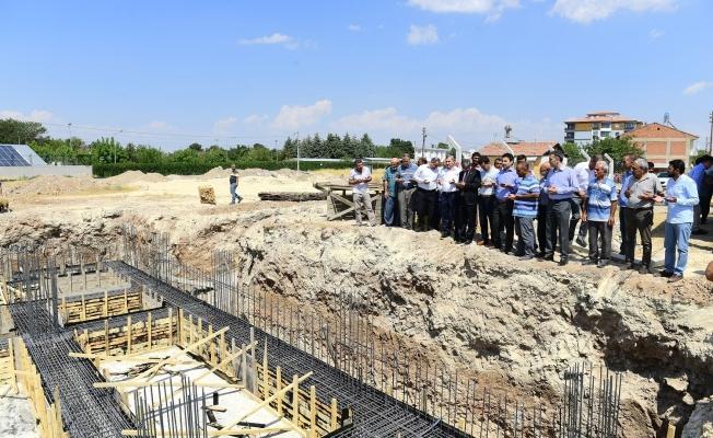 Yeni caminin temelleri atıldı!