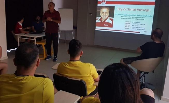YMS'li oyunculara değişen oyun kurallarına ilişkin seminer!..
