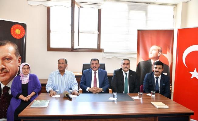 Başkan Gürkan'dan Kale ilçesine ziyaret!