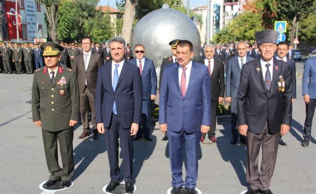 Malatya'da Gaziler Günü düzenlenen tören ile kutlandı!