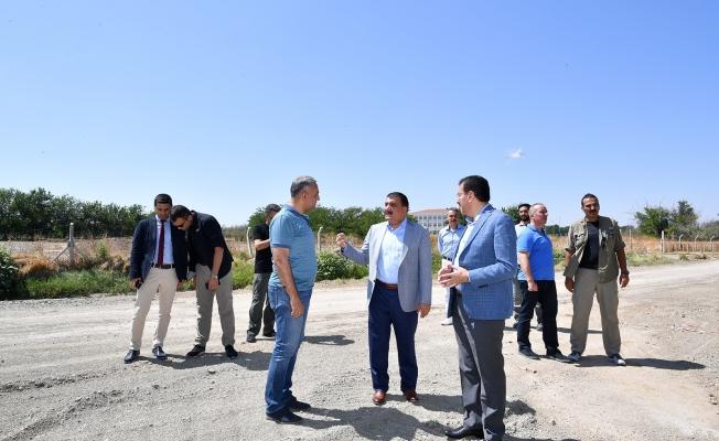 Milletvekili Tüfenkci ve Başkan Gürkan'dan ortak inceleme gezisi