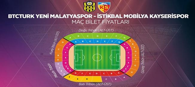 BYMS-Kayserispor maçının biletleri satışa çıktı. İşte fiyatlar!