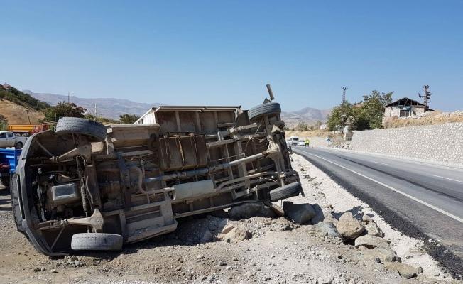Hekimhan'da kaza: 2 yaralı!