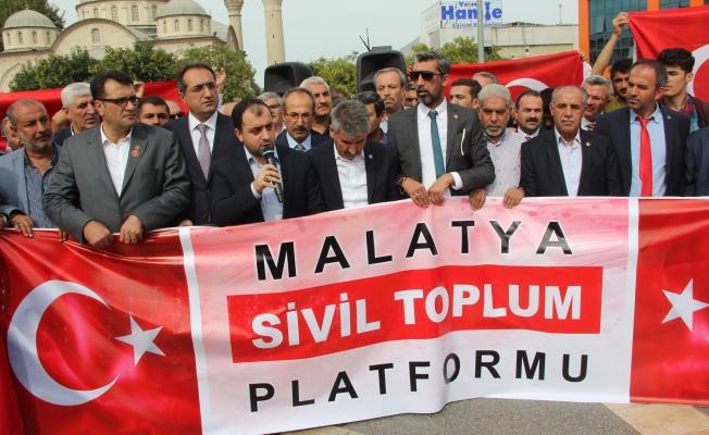 Malatya Sivil Toplum Platformu'dan Barış Pınarı Herakatı'na destek!