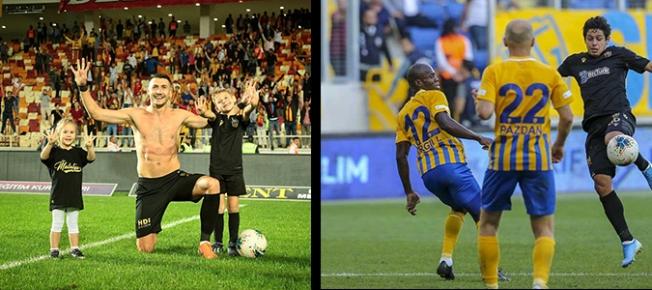 Takımın en değerlileri Jahovic ile Guilherme...