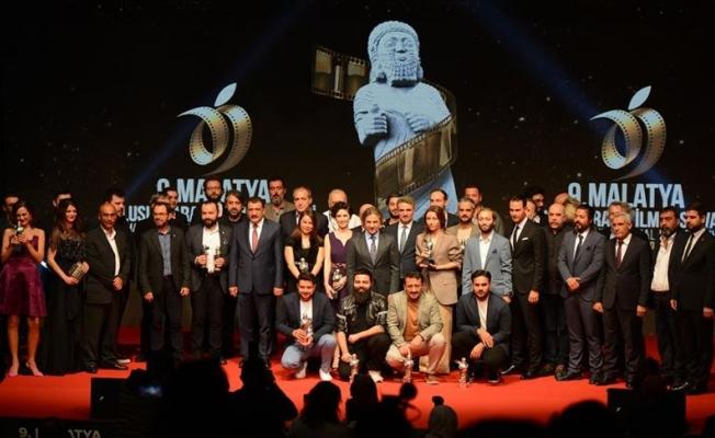 9. Malatya Uluslararası Film Festivali ödül töreni ile sona erdi!