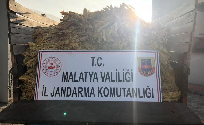 Malatya'da 3 tütün hırsızı yakalandı!