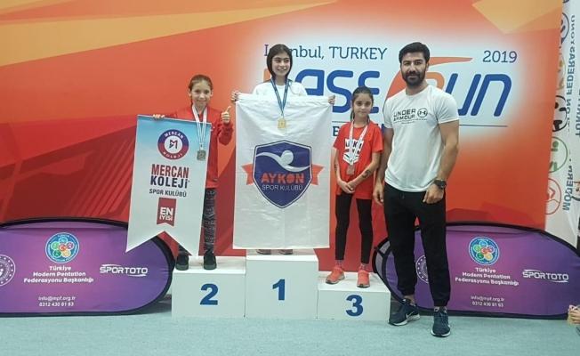 Malatyalı sporcu İrem Su Kocaoğlan, Türkiye 2'ncisi oldu!