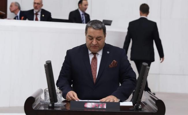 Milletvekili Fendoğlu, TBMM'de sorun ve talepleri dile getirdi