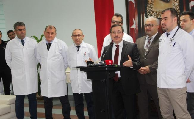 Turgut Özal Tıp Merkezi'nde kök hücre nakli başarısı...