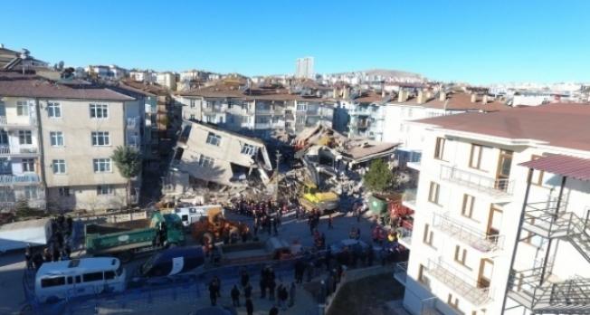 Depremde hayatını kaybedenlerin sayısı 41'e yükseldi!