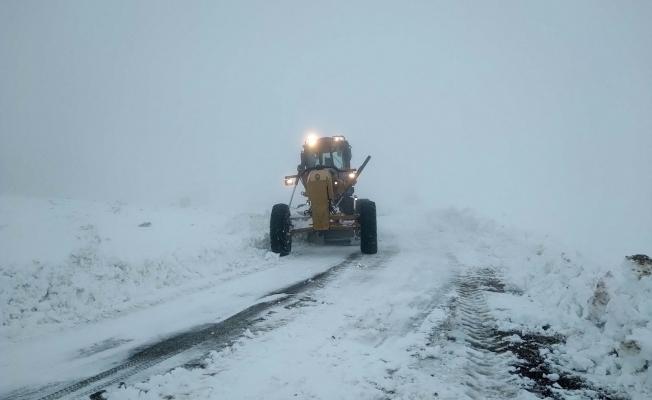 Malatya'da kar nedeniyle 51 kırsal mahalleye ulaşılamıyor