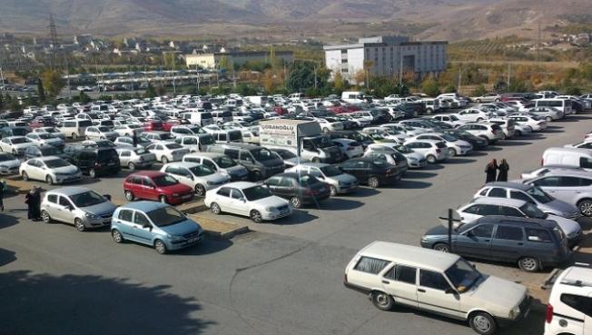 Malatya'da trafiğe kayıtlı araç sayısı artıyor!