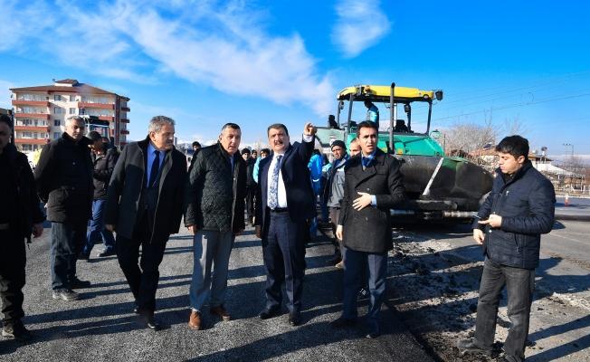 Sivas bağlantı yolunun 2 buçuk kilometrelik bölümü tamamlandı