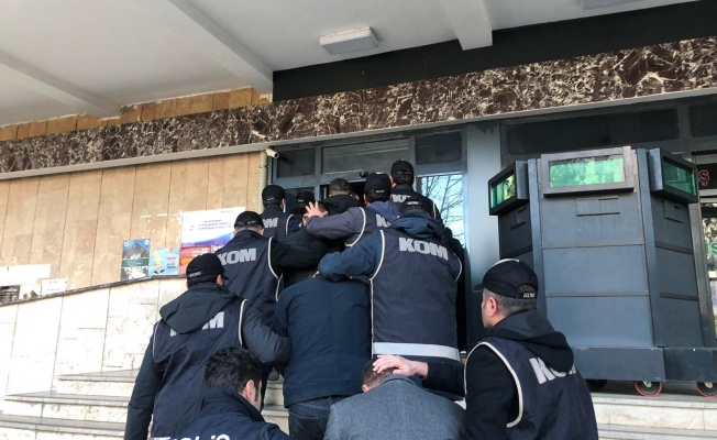 Suç örgütü operasyonunda yakalanan 11 kişi tutuklandı!