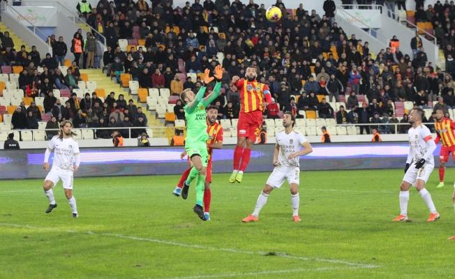Kaplan evinde Ankaragücü'ne 1-0 mağlup oldu!