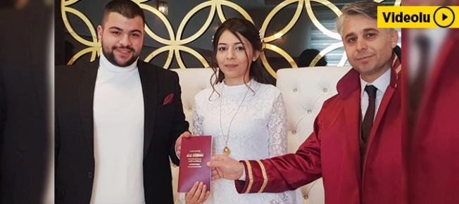 Malatya'da 14 Şubat'ta 25 çiftin nikahı kıyıldı!