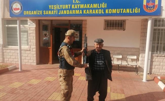 Malatya'daki tüfek hırsızları yakalandı!