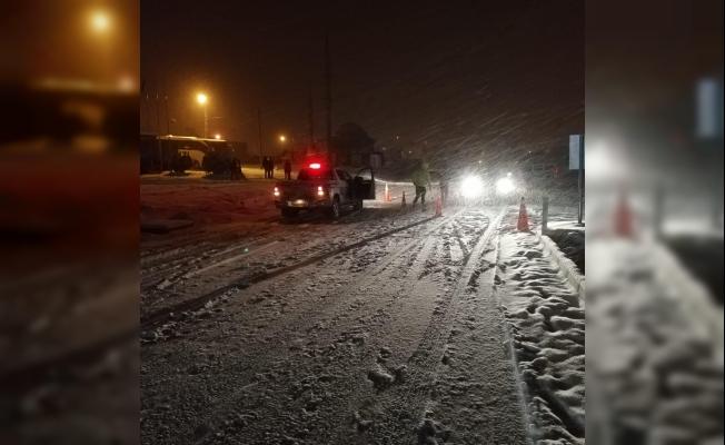 Malatya-Sivas karayolu ulaşıma kapandı!