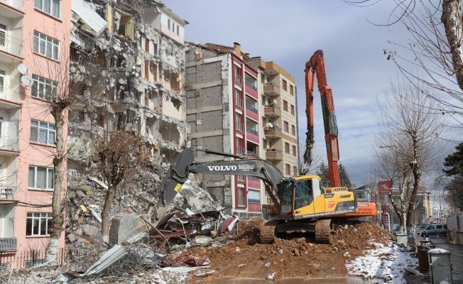 Malatya'da depremin acı bilançosu...