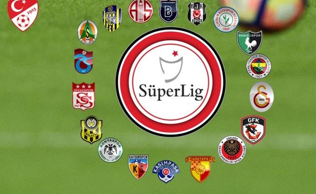 Süper Lig'de 5 haftalık program açıklandı!