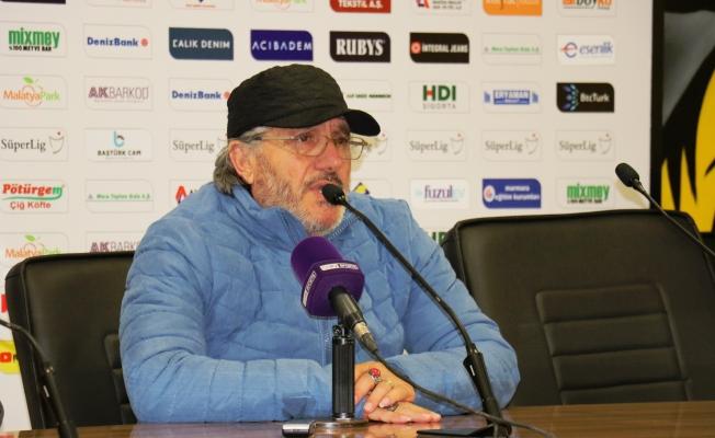 """""""Yeni Malatyaspor karşısında haddimizi bilerek oynadık"""""""