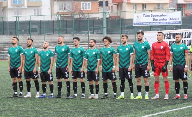 Yeşilyurt Belediyespor 1 puan aldı ama ligin son sırasına yerleşti