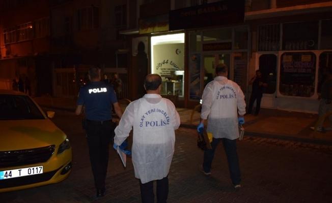 Malatya'da silahlı saldırı: 1 yaralı