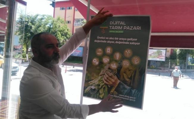 Malatya'da Dijital Tarım Pazarı'nın tanıtımı yapıldı