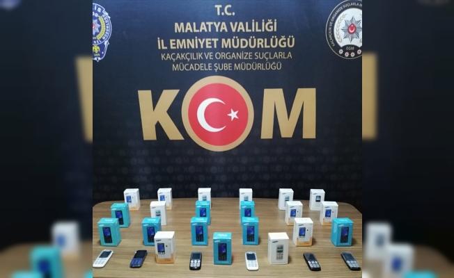 Malatya'da gümrük kaçağı ürünler ele geçirildi