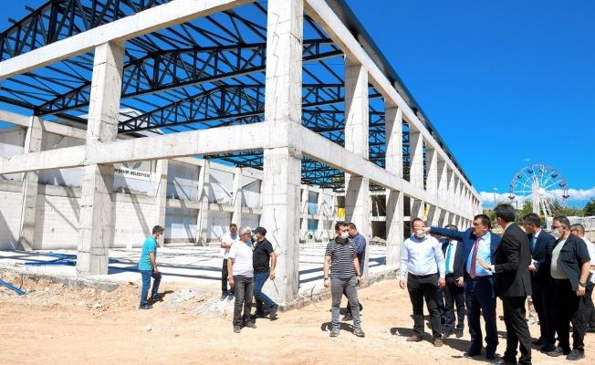 Yeni Fuar Merkezi'nin çalışmaları yıl sonunda tamamlanacak