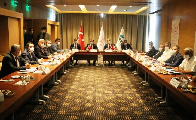 FKA yönetimi Malatya'da toplandı