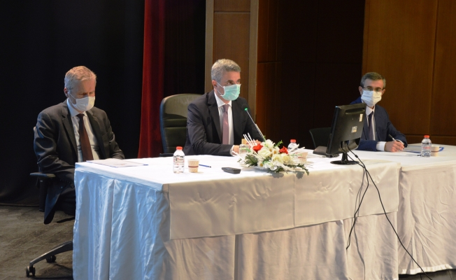 Malatya İl Koordinasyon kurulu toplandı! Vali Baruş maske konusunda uyardı!