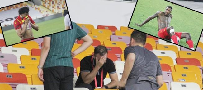 Mina ve Donald yıkıldı, kulüp personeli gözyaşlarını tutamadı