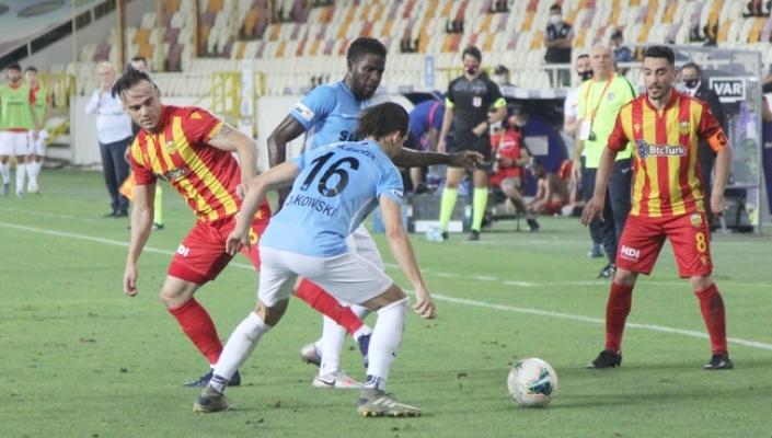 Yeni Malatyaspor'un Süper Lig macerası sona erdi!