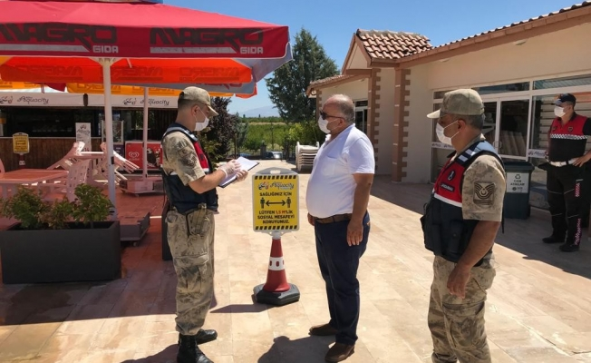 Jandarma Covid-19 denetimini arttırdı
