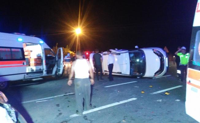 Malatya'da iki araç çarpıştı: 3'ü çocuk 8 yaralı!