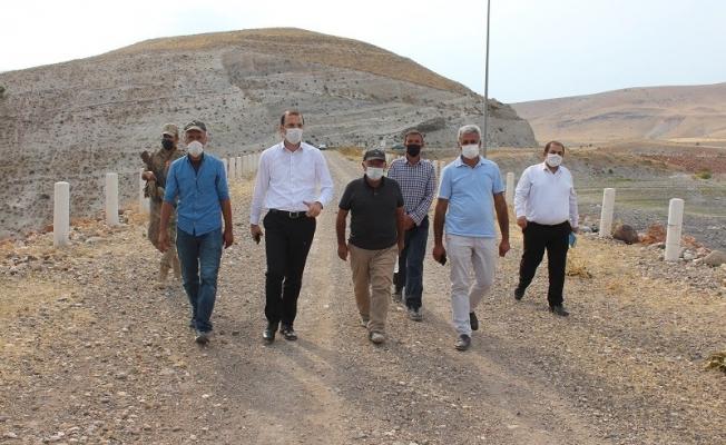 Boztepe Barajı Mesire Alanı yapılıyor