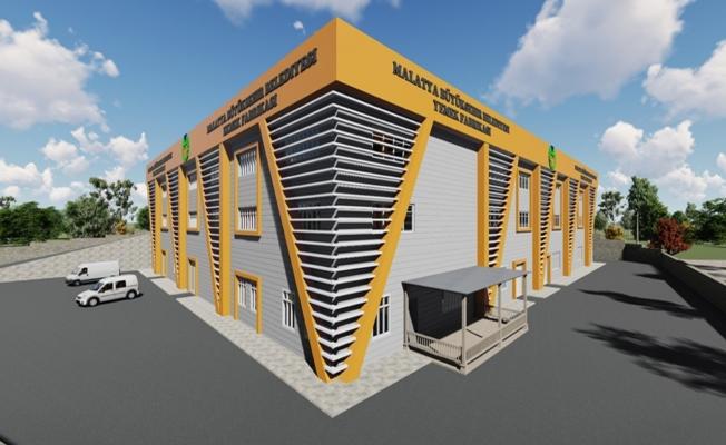 Malatya Büyükşehir ekmek ve yemek fabrikası ihale aşamasında
