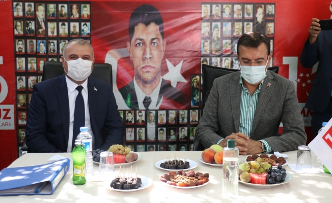 Tüfenkci'den Kızılay Sağlık Üretim Merkezi müjdesi