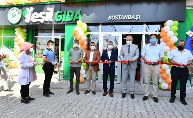 ''Yeşil Gıda Market' törenle açıldı''